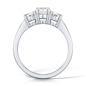 18ct White Gold Diamond Three Stone