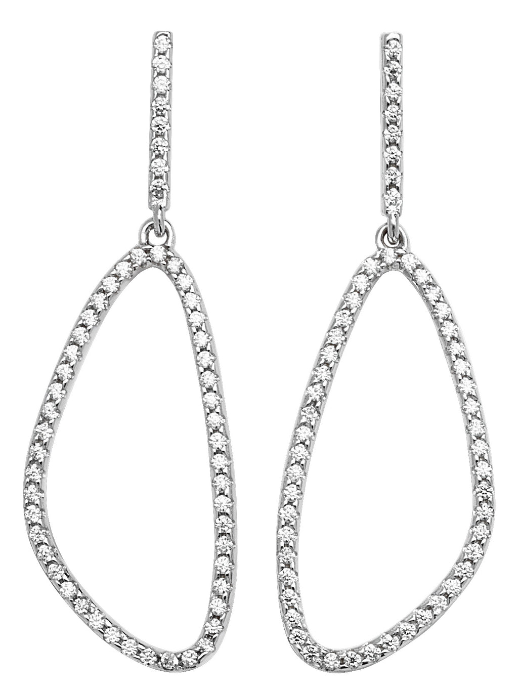 Silver Cubic Zirconia Earrings