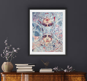 Refraction, Art Print