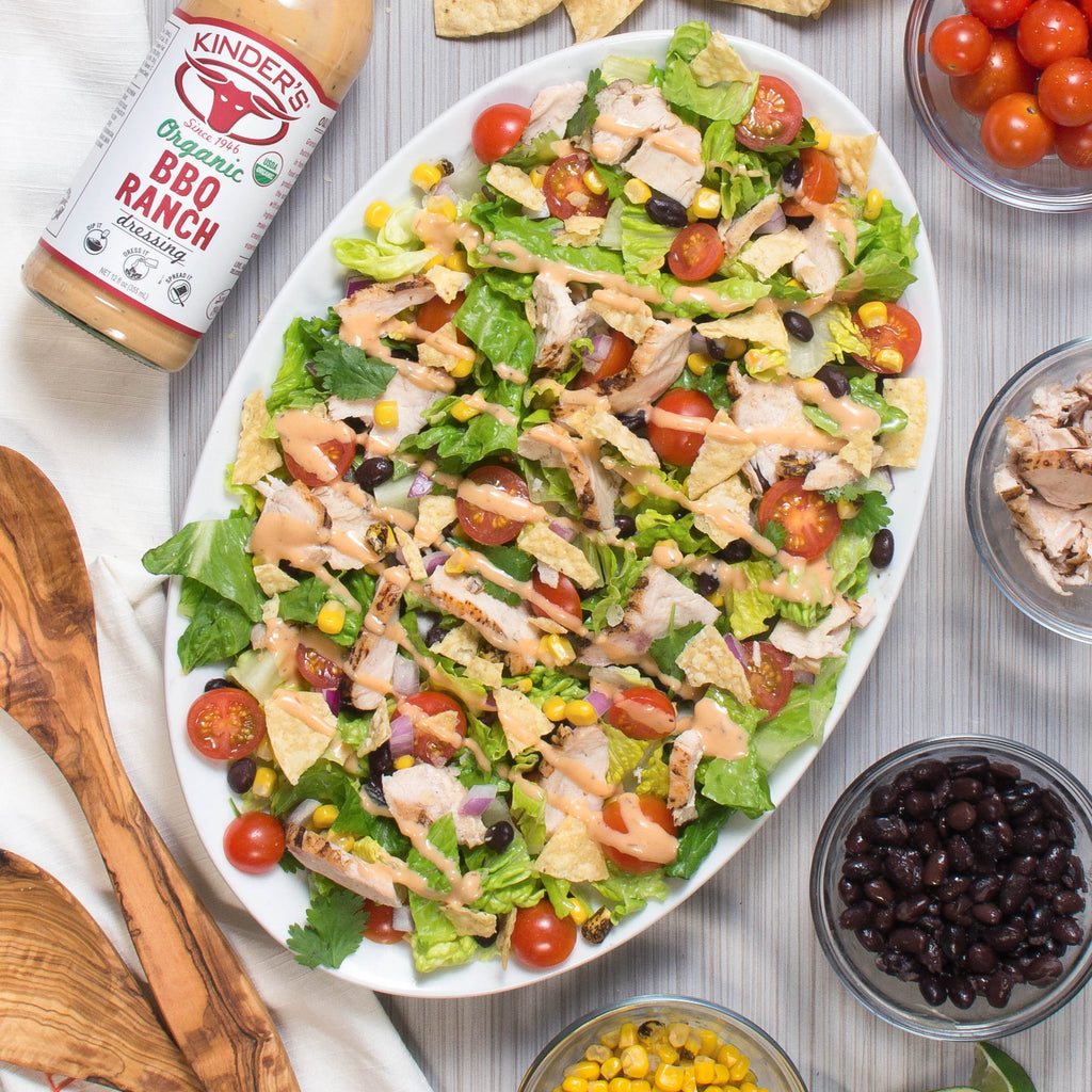 BBQ Chicken Ranch Salad
