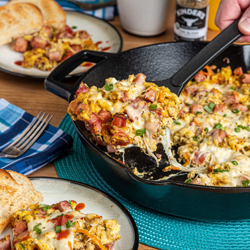 Egg, Ham & Cheese Southwest Skillet