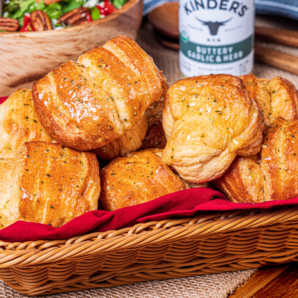 Kinder's Buttery Garlic & Herb Rolls