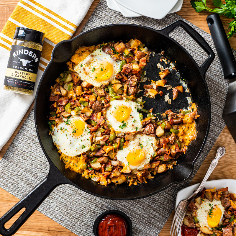 Buttery Steakhouse Breakfast Skillet