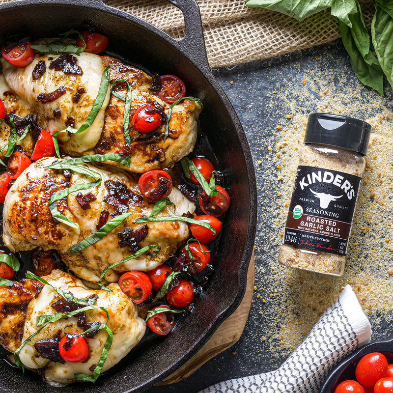 Balsamic Caprese Roasted Garlic Chicken