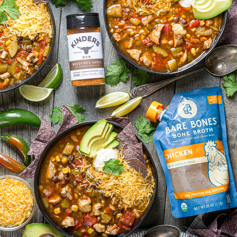 Chicken Tortilla Soup With Bare Bones® Bone Broth