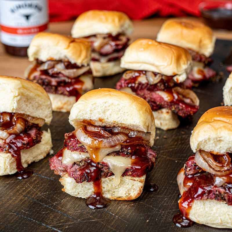 Prime Rib Rubbed Tri-Tip Sliders