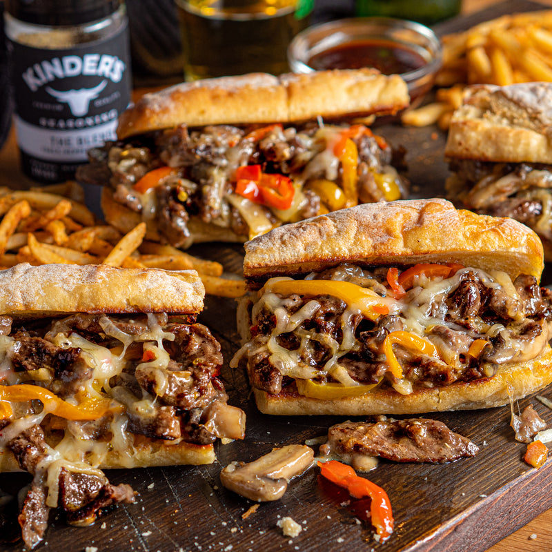 Ribeye Cheesesteaks