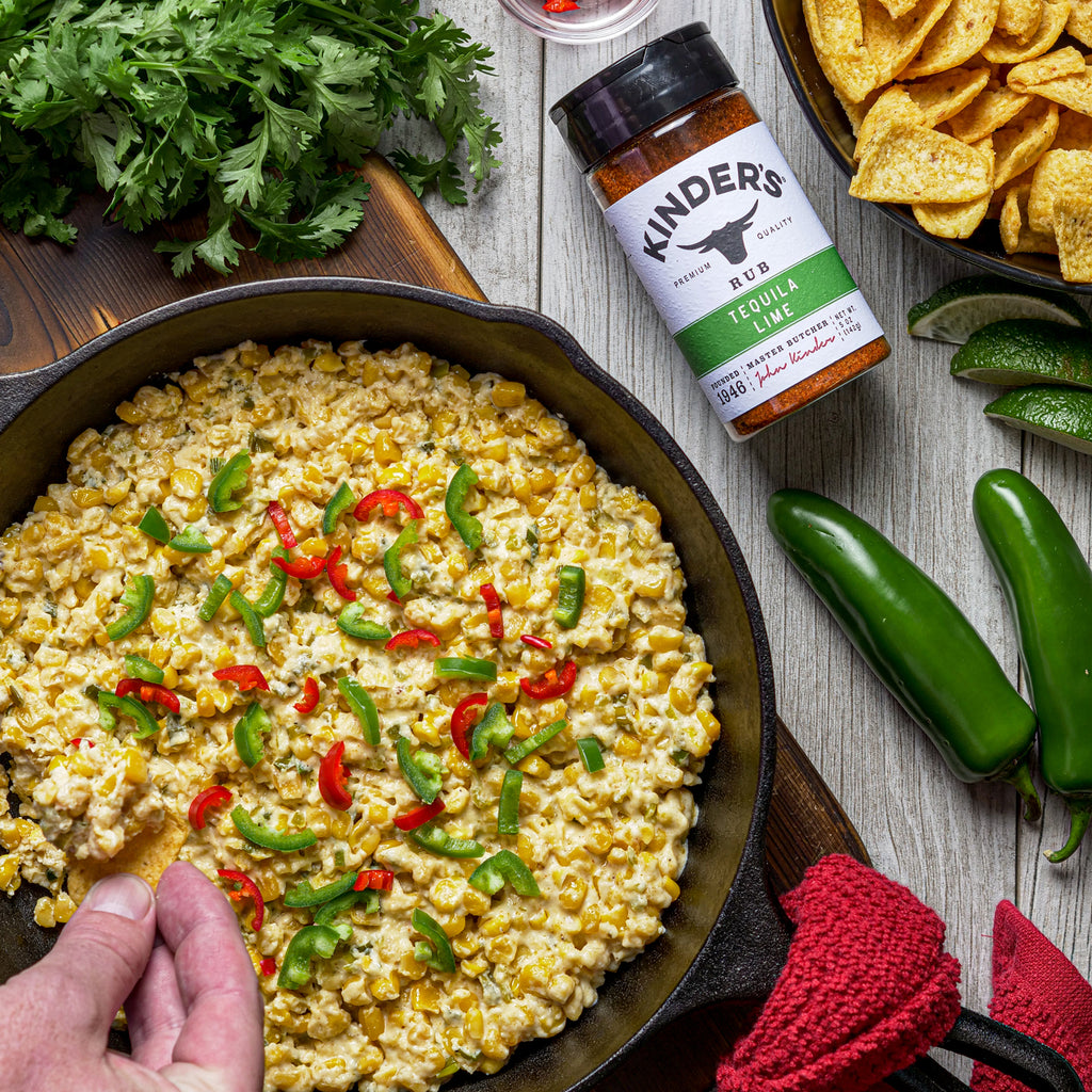 Tequila Lime Jalapeno Corn Dip