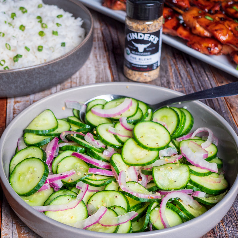 Cucumber Salad with The Blend