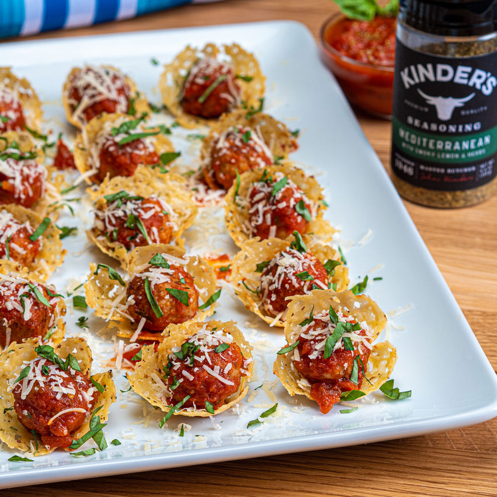 Meatball Parmesan Cups