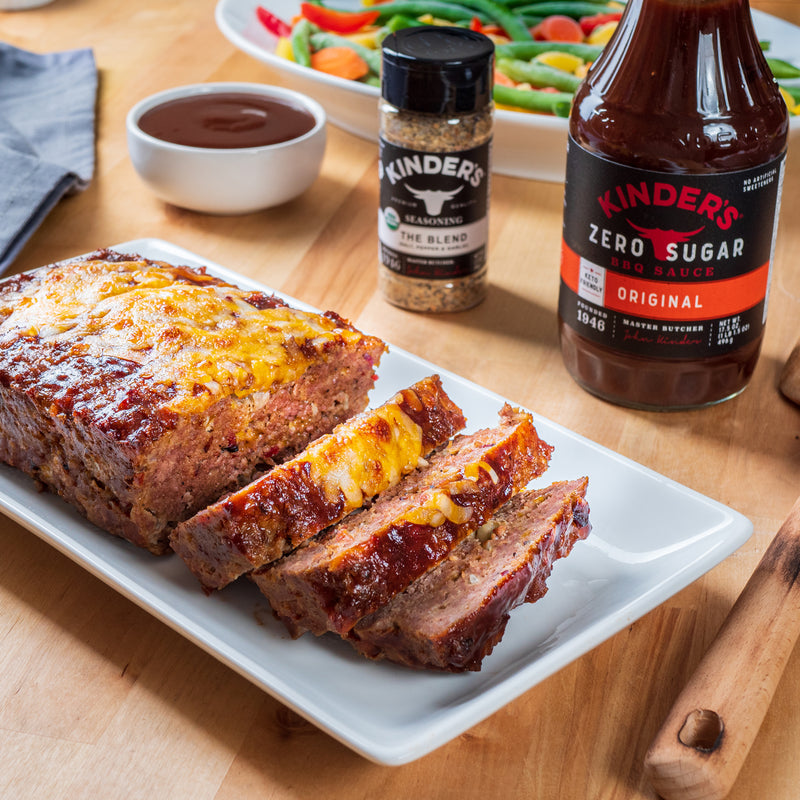 Keto Friendly BBQ Bacon Meatloaf