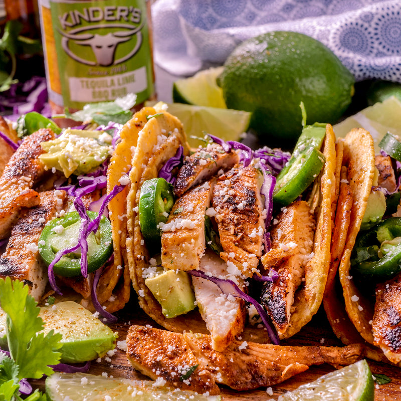 Quick & Easy Tequila Lime Chicken Tacos
