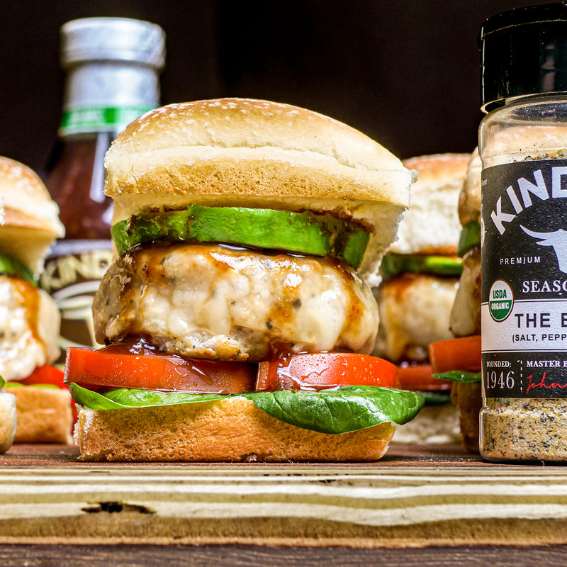 Chicken Burger Sliders