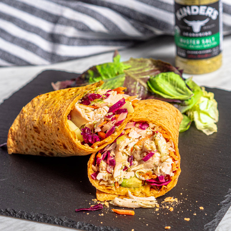 Master Salt Chicken Wrap