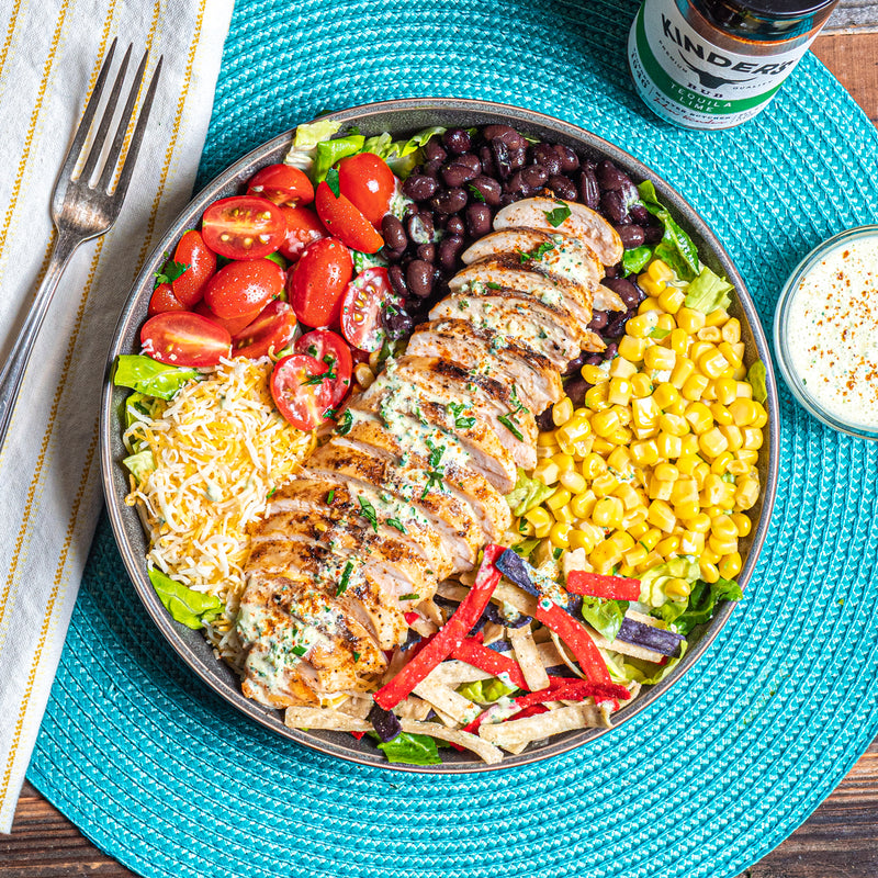 Tex-Mex Tequila Lime Chicken Salad