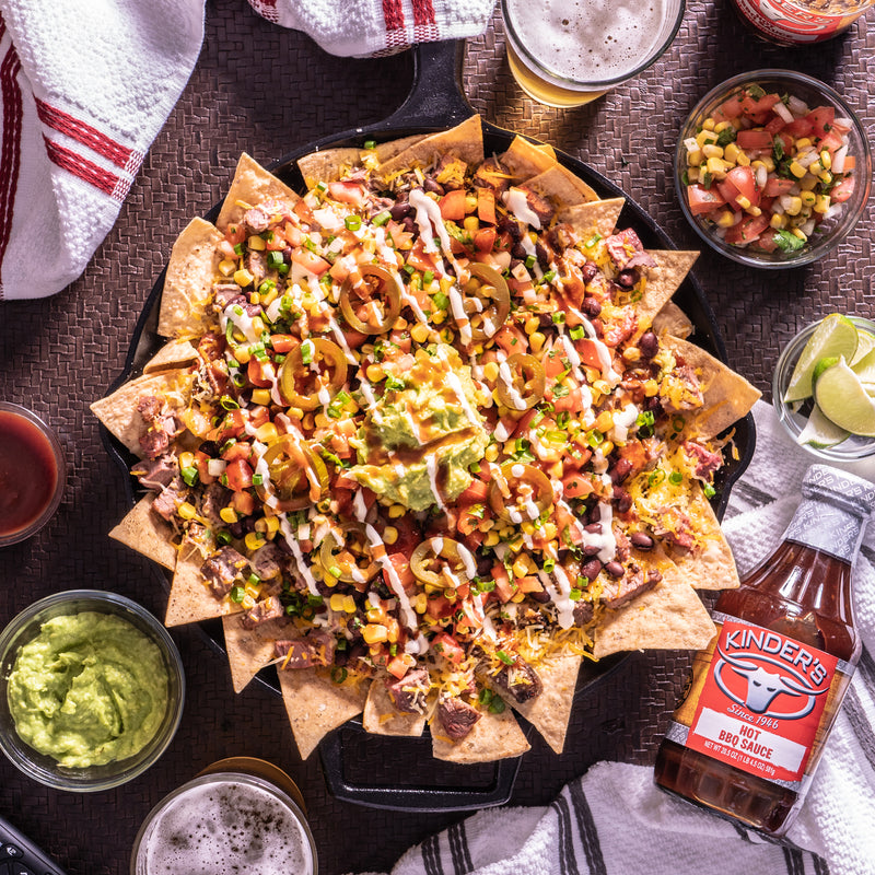 Marinated Tri Tip Nachos