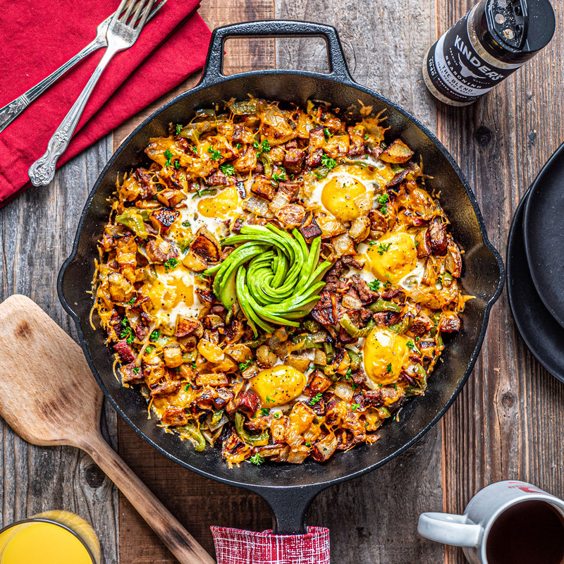 Tri-Tip Steak Breakfast Skillet