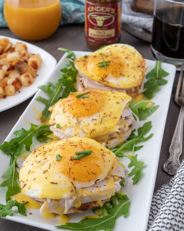 Eggs N Turkey Benedict