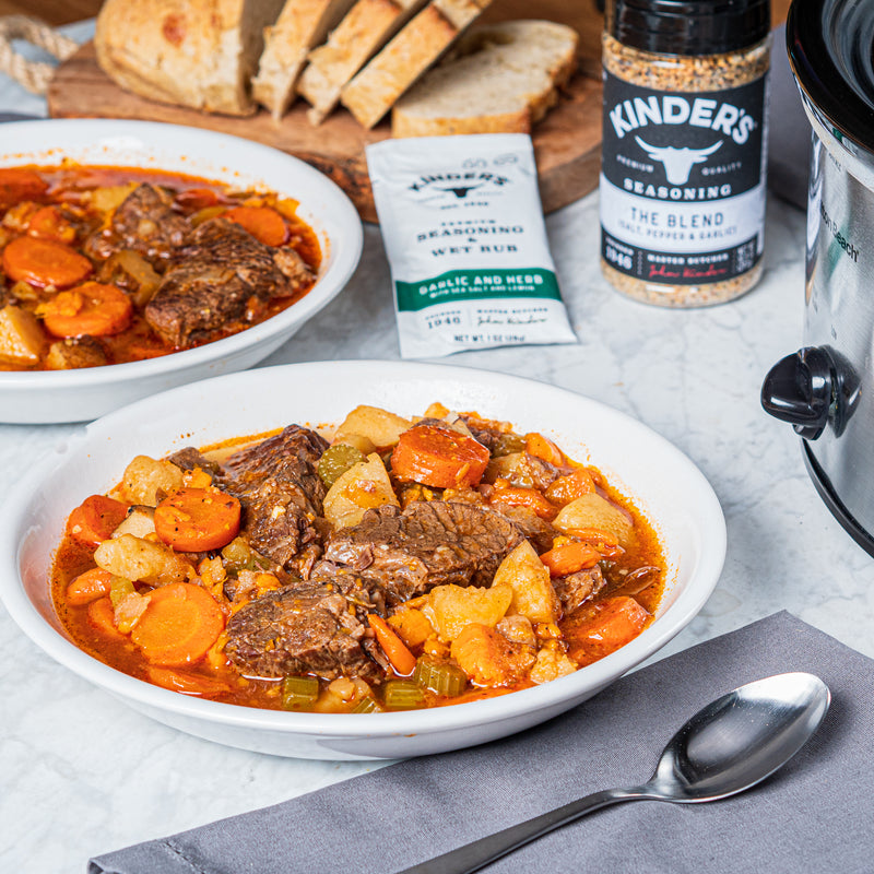 Kinder's Pot Roast Stew