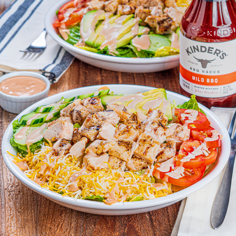 Kinder's BBQ Chicken Salad