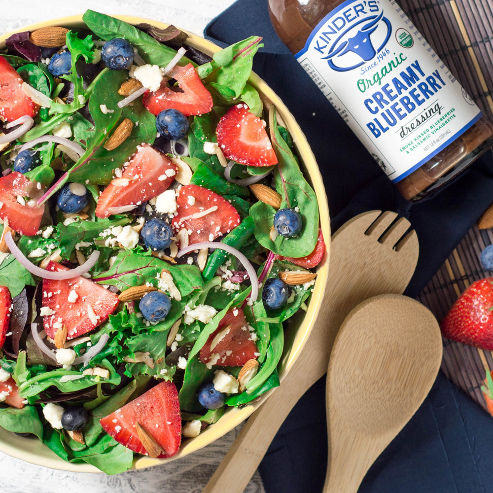 Kinder's Blueberry Summer Breeze Salad
