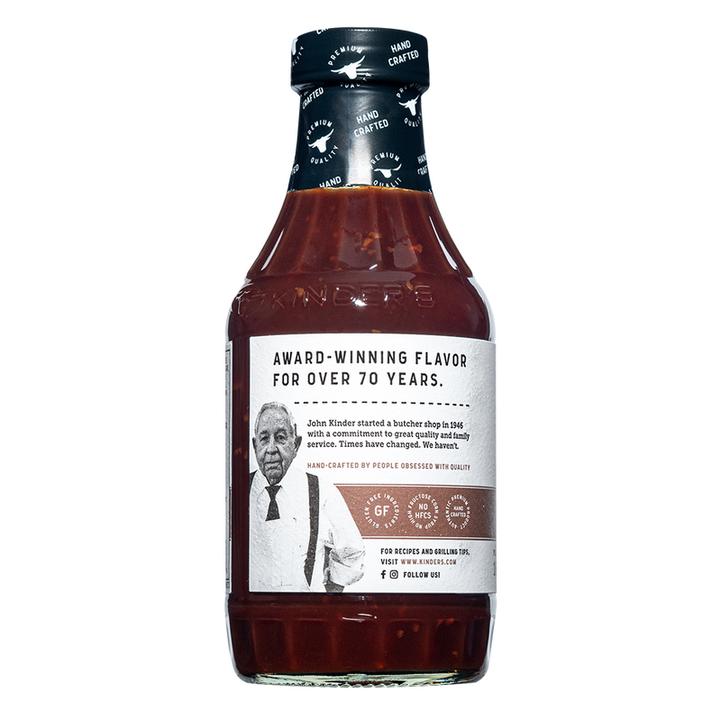 Handcrafted Roasted Garlic BBQ Sauce 20.5 oz.
