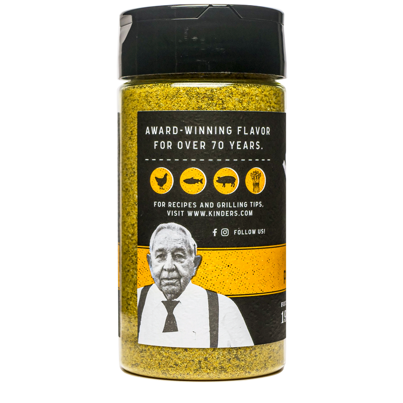 Handcrafted Cracked Pepper & Lemon Seasoning 6.75 oz.