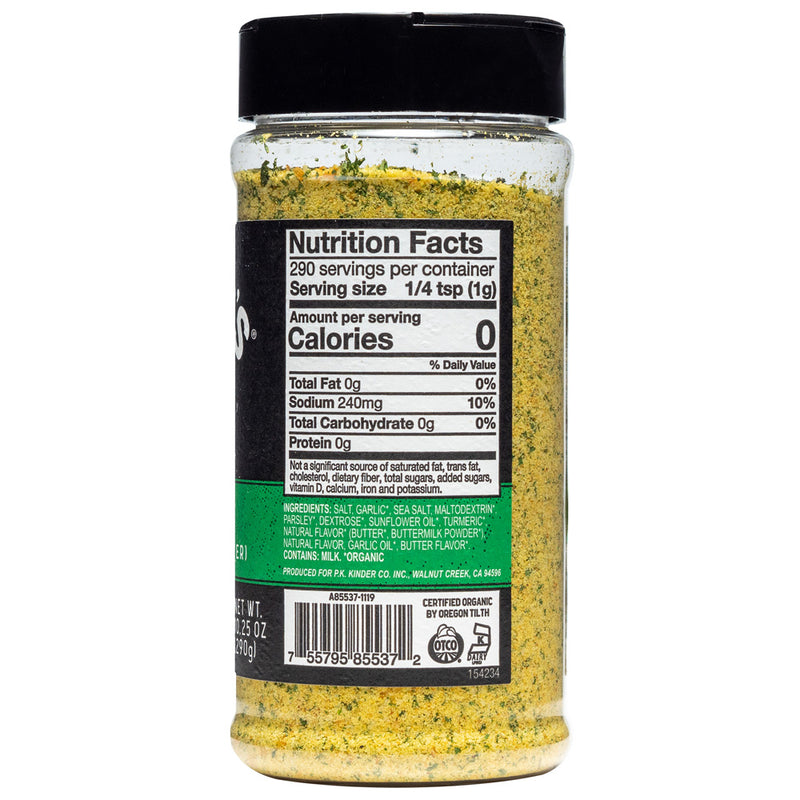 Organic Master Salt Seasoning 10.25 oz.