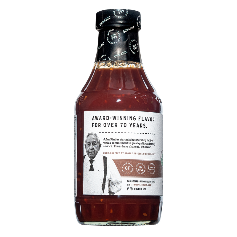 Organic Spicy Roasted Garlic BBQ Sauce 20 oz.