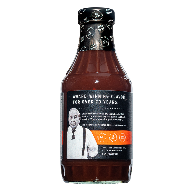 Zero Sugar Original BBQ Sauce 17.5 oz.