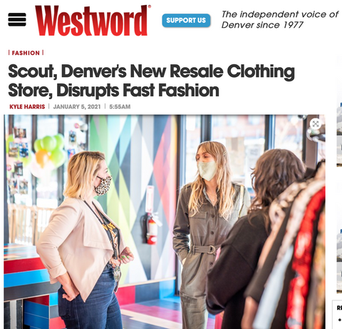 Denver vintage store Scout Dry Goods and Trade in former Buffalo Exchange location
