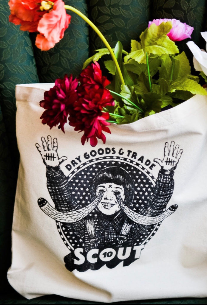 Scout 10-year Tote Bag
