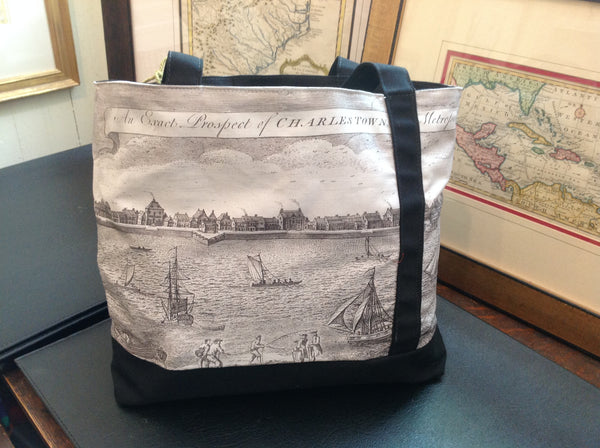 Charlestown Prospect circa 1762 Tote Bag