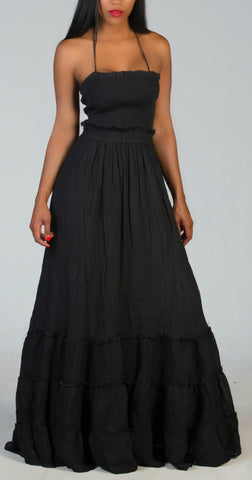 BEAUTIFUL Black Flow Dress