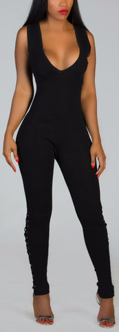 IRREPLACEABLE Black Jumpsuit