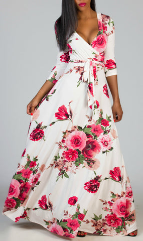 BREATHTAKING Floral Maxi Dress