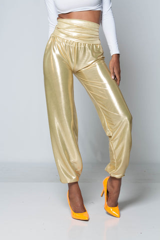 (SAMPLE) 14 Carat Gold iAMMI High Waist Pants XS/S