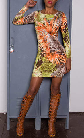 sample-Tropical N The fall iAMMI Mini Dress XS/S