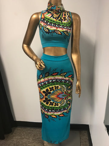BOLD Festival Two Piece Set XSMALL