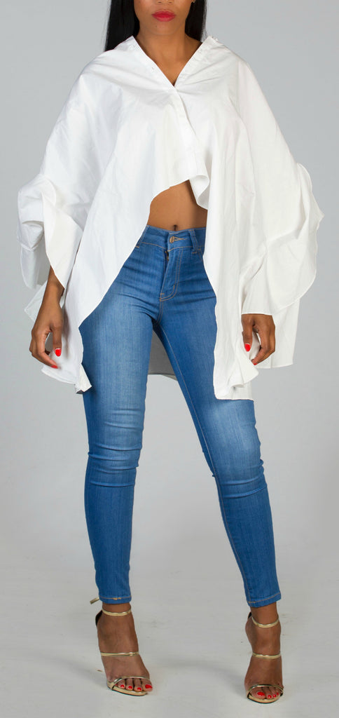 GRACEFUL White Blouse