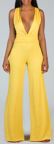 INDEPENDENT Yellow Jumpsuit