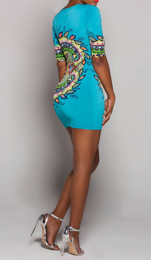 BOLD Festival iAMMI Mini Dress SMALL