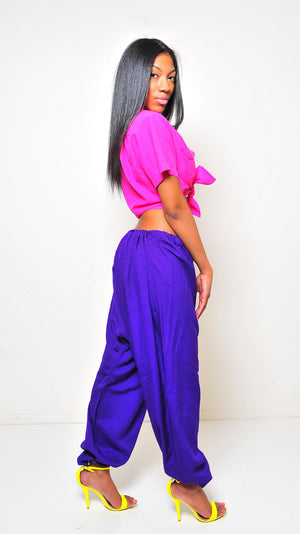 SAMPLE Purple Hangman Pants S/M