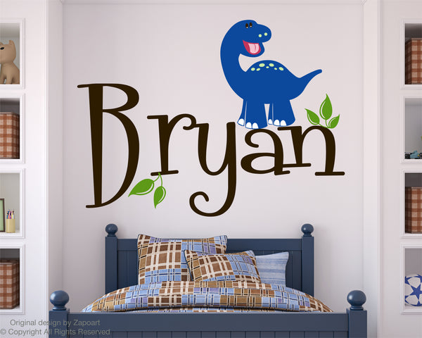 Dinosaur with Personalized Name