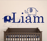 Elephants with Personalized Name