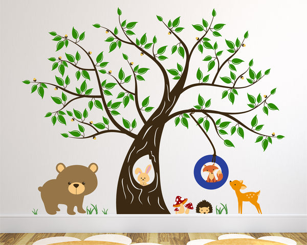 Tree with Forest Friends Set