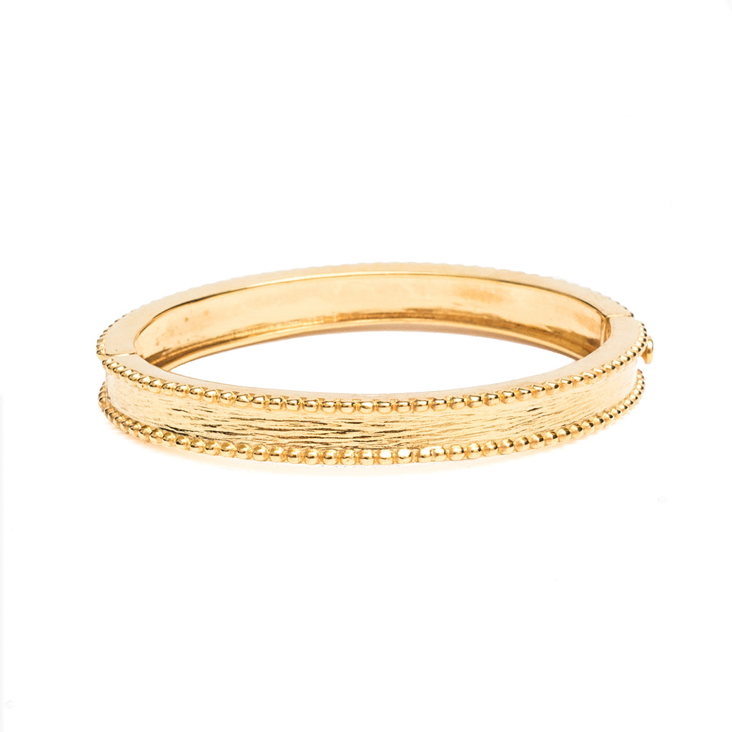 Brass Bangle Gold - Shoshanna Lee