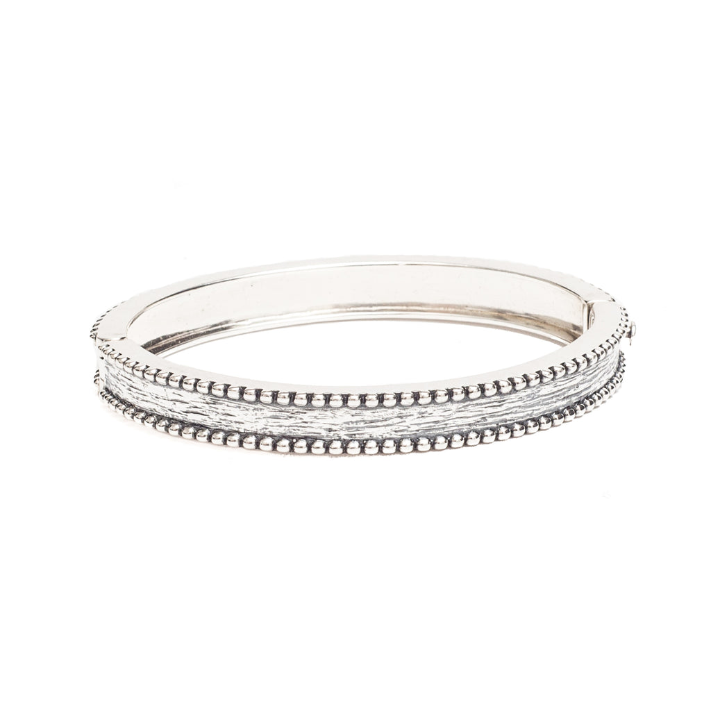 Brass Bangle Silver - Shoshanna Lee