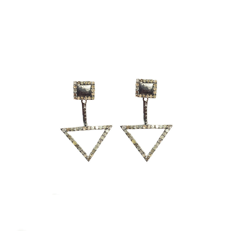 Cherished Diamond Ear Jacket Sterling Silver - Shoshanna Lee