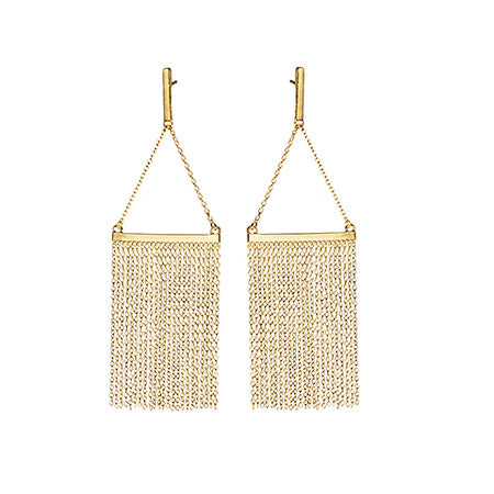 Chandelier Earrings Gold - Shoshanna Lee